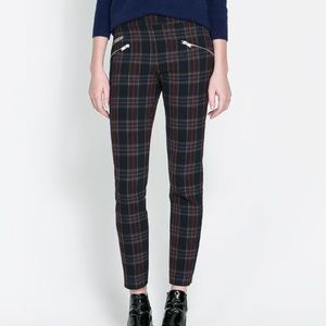 Zara Woman | Checkered skinny trouser